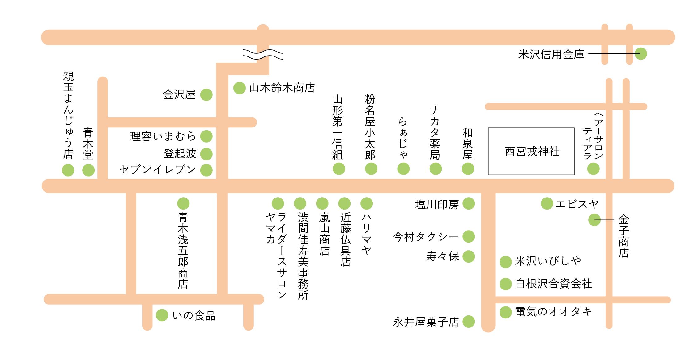 粡町商店会マップ
